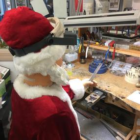 Santa Finsihing Touches
