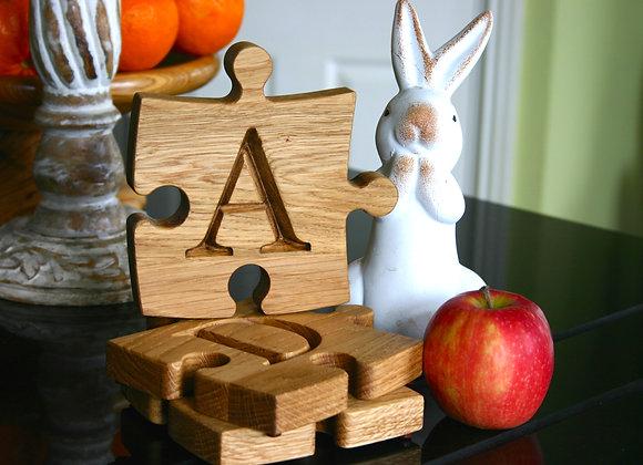 Alphabet Puzzle Coaster