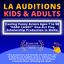 Casting LA Actors Adults & Kids 'HARD CANDY' One-Act Play Comedy Scholarship Production in WeHo