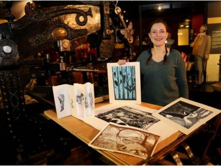 Printmaking with Julia Swarbrick