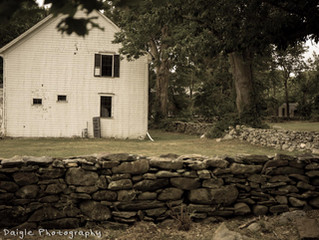 Stone walls tell the story of the Shawomet Purchase