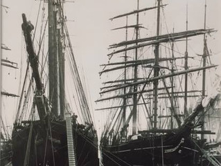 The first five-masted schooner in the world