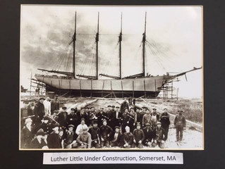 The four-masted Luther Little, a valuable war contribution