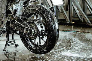 washing-a-motorbike-at-the-car-wash-shop