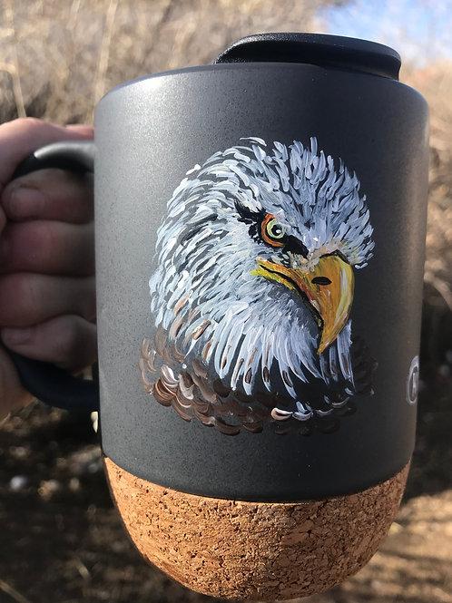 Bald Eagle To Go Mug
