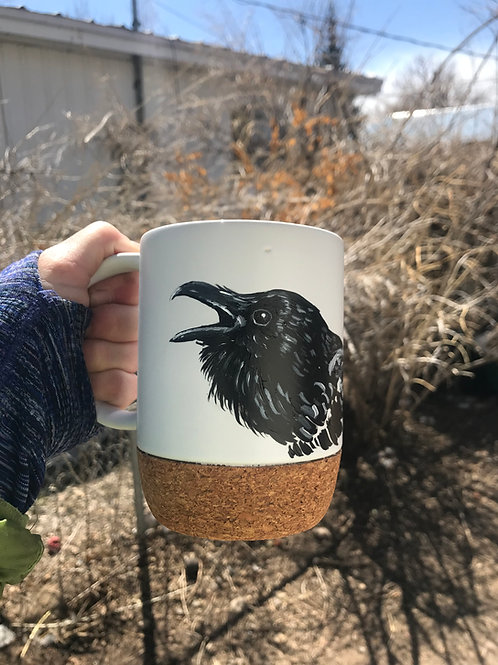 Raven To Go Mug