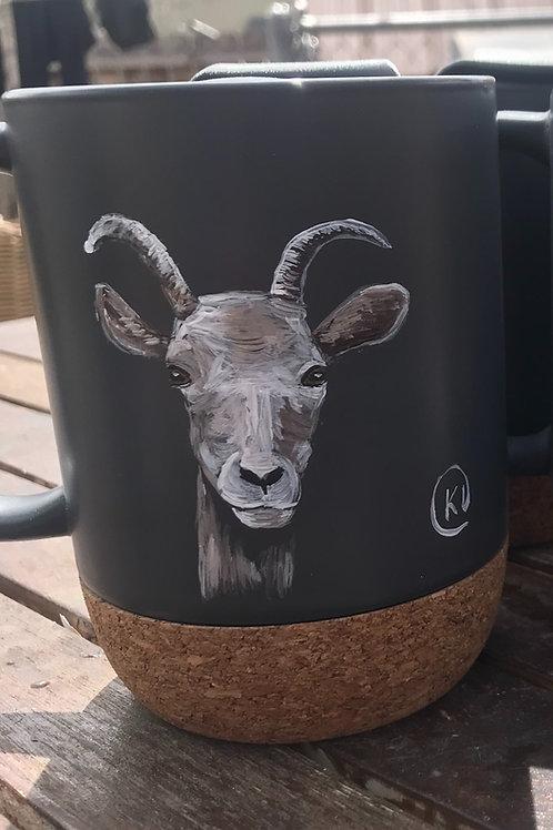 Female Bighorn Sheep To Go Mug