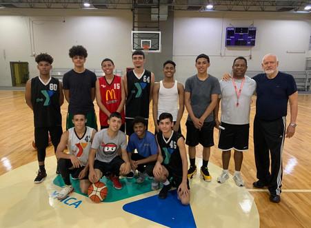 Viento en popa el programa de Baloncesto de la Y
