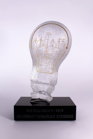 """prize, business gift """"Bulb"""""""
