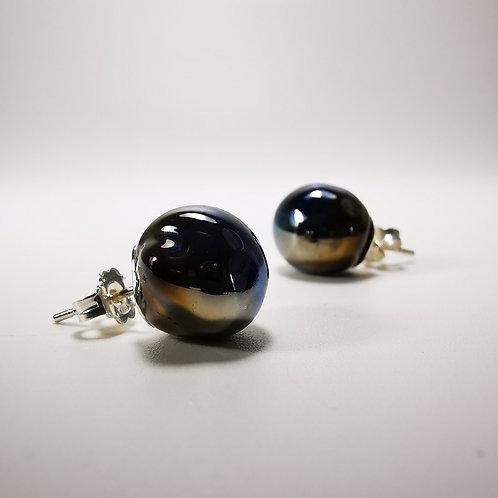 Jupiters Silver Stud Earrings