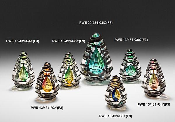 PWE 431 stiklo gaminys, verslo dovanos, apdovanojimai, stiklo kūrinys, stiklo dirbiniai, stiklo skulptūros, glasremis, meni