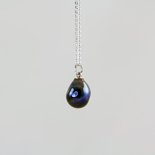 Sirius Glass Silver Necklace