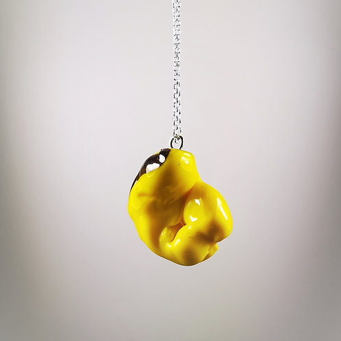 Yellow Gum Necklace