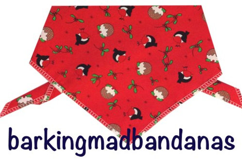 Red Christmas Dog Bandanas, Value Christmas Gifts, Dogs, Grooming, Dog Walking, Xmas