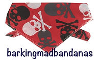 Pirate Halloween Dog Bandanas, Halloween Dog Bandanas, Dog Clothes, Cheap Bandanas Outfit