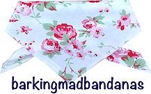 Cath Kidson Style Dog Bandana, Floral Bandana, Gift for Dogs, Dog Clothing