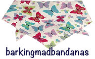 Butterflies, Dog Bandanas,  Dog Bandanas, Dog Clothes, Dog Coats