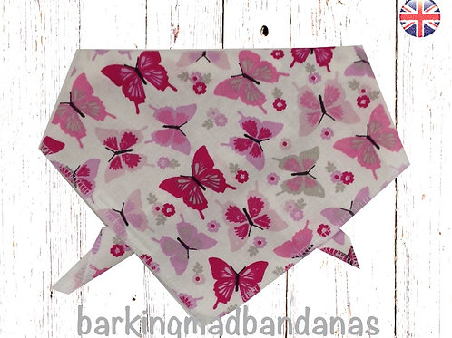 XL Funky Pink Bandanas UK, XL Dog Bandanas UK, Funky Pink Bandanas, Large Dog Bandanas UK, XL Dog Bandana