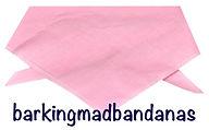 Plain Cotton Pink Dog Bandana, Bandana, Birthday Gift, Dogs, UK, Dog Clothing