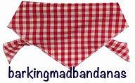 Red Gingham Bandana, Birthday Gift, Dogs, UK, Dog Clothing