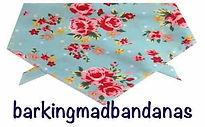 Dog Clothing, Pink Floral dog bandana, Dog Breeds Dog gift, dog clothing, dog accessories