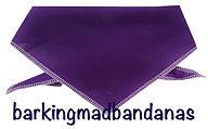 Plain Cotton Purple Dog Bandana, Bandana, Business Promotion, Advertising Dogs, UK, Dog Clothing