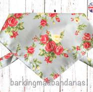 Beautiful Cath Kidston Floral Rose Dog Bandana