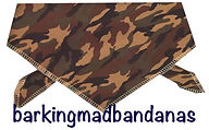 Purple Camouflage Dog Bandana, Dog Gifts, Dog Clothing, Dog Clothing, Cheap Bandanas