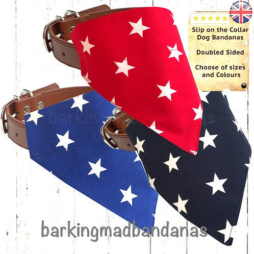 Dog Bandanas UK, Dog Bandana Slide on Collar UK, Dog Bandana Slide on, Dog Bandana Slip on Collar. Dog Bandana Slip on, UK
