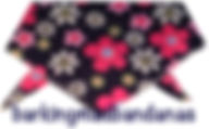 Dog Clothing, Floral Daisy Dog Bandana, Dog Bandanas for all Dog Breeds, Dog Clothing UK, Cheap Bandana