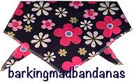 Dog Clothing, Floral Daisy Dog Bandana, Dog Bandanas for all Dog Breeds, Dog Clothing UK, Cheap Bandana