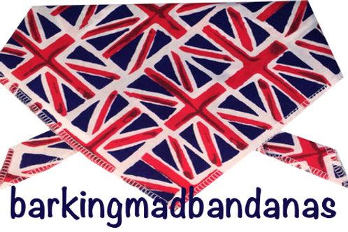 Union Jack Dog outfits, Union jack dog bandanas, Britain, UK Dog clothes