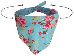 Bandana Tie style, Size guide, Dog Groomers