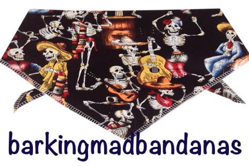 Halloween Dog Bandanas, Halloween Dog Outfits, Halloween, Skeleton, Sale