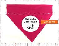 Dog Grooming, Slider Bandanas, Handmade UK, Dog Clothing, Trade, Advertising