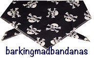 Pirates, Fun, Dog Bandanas, Halloween Dog Bandanas, Dog Clothes, Cheap Bandanas, Halloween