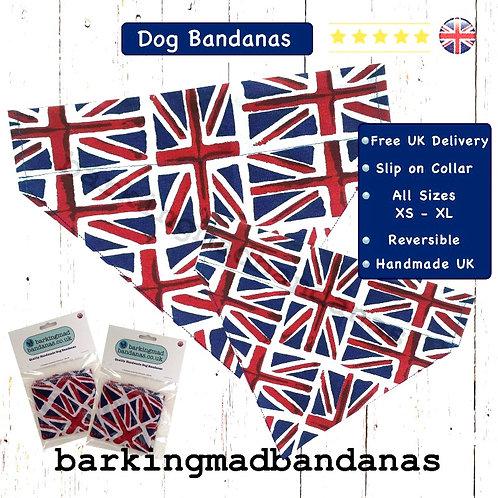XL Slide Collar Dog Bandana, XL Dog Breed Bandanas, XL Great Dane Bandanas, XL German Shepherd Dog Bandanas, XL Puppy Dog