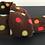 Dog Scarf, Brown, Fleece Dog Scarf, Dog Clothing, Dog Bandana, Christmas Scarf, Dogs, Handmade UK, Northampton