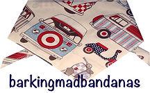 VW Camper Dog Bandanas, Dog Bandana, VW Cars, Gift for Dogs, Dog Clothing