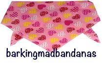 Pink Valentine Dog Neck Tie, Dog Ties, Dog Bandanas, Dog Clothing, Cheap