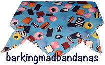 Liquorice Design Dog Bandana, Cheap dog bandanas