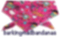 Red Spot Dog Bandana, Dog Clothing, Dog Bandanas, UK Dog Bandanas