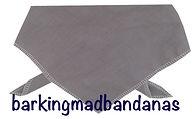 Plain Cotton Dog Bandana, Bandana, Birthday Gift, Dogs, UK, Dog Clothing