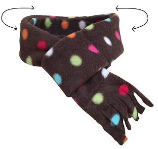 Fleece Dog Scarf, Dog Scarves, Dog Neck Ties, Luxury Dog Bandanas