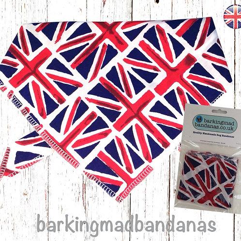 Dog Birthday Bandana, Dog Birthday Tie On, Dog Bandana UK, Collar Dog Bandana UK, Red Dog Bandana