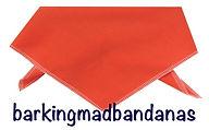 Plain Cotton Dog Bandana, Orange Dog Bandanas, Plian Orange Dog Bandanas, Advertising, Promoting