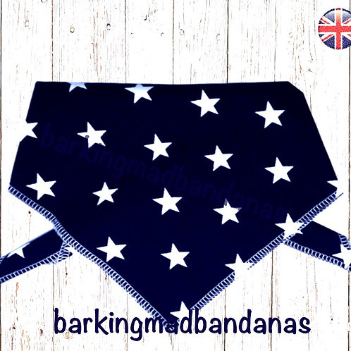 XL Dog Bandanas, XL Dog Bandanas, Great Dane Dog Bandanas UK, Great Dane Dogs, Dog Bandanas UK, Blue Dog Bandanas UK, Navy