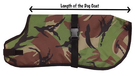 Waterproof Dog Coat Size Chart, Measurements, Dog Breeds, UK Dog Coats
