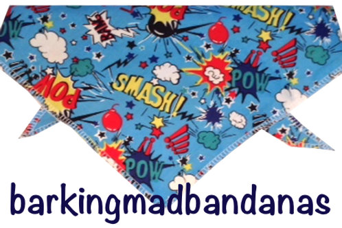 Cartoon Dog Bandana, Cheap Dog Bandana, Trade Dog Bandanas