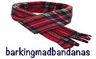 Dog Scarves, Red Dog Scarves, Christmas Dog Scarves, Red Tartan Christmas Dog Outfits, Dog Clothing, Dog Costumes, Dog Jumpers, Christmas Dog Bandanas, Handmade Northampton UK